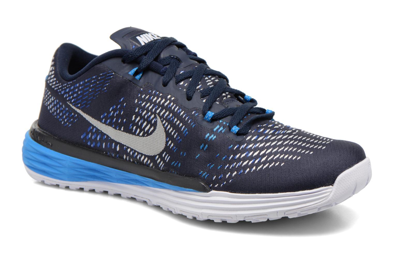 Sportschuhe Nike Nike Lunar Caldra blau detaillierte ansicht/modell