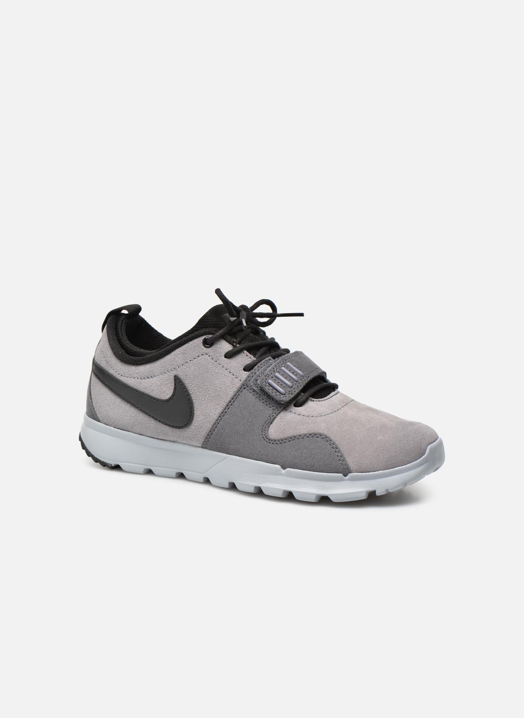 Chaussures de sport Nike Trainerendor L Gris vue détail/paire