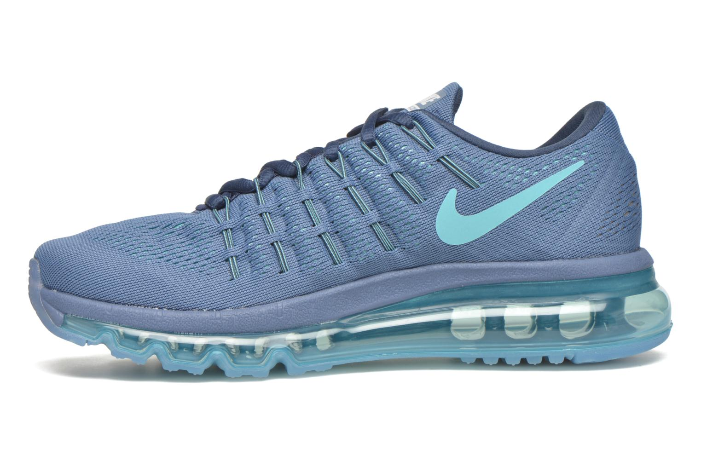 Chaussures de sport Nike Wmns Nike Air Max 2016 Bleu vue face