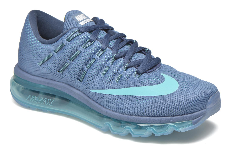 Chaussures de sport Nike Wmns Nike Air Max 2016 Bleu vue détail/paire