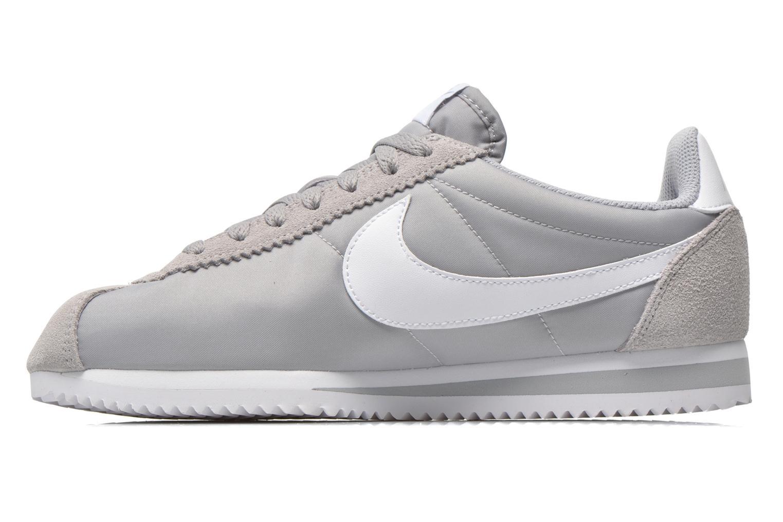 Sneakers Nike Classic Cortez Nylon Grijs voorkant