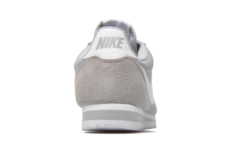 Baskets Nike Classic Cortez Nylon Gris vue droite