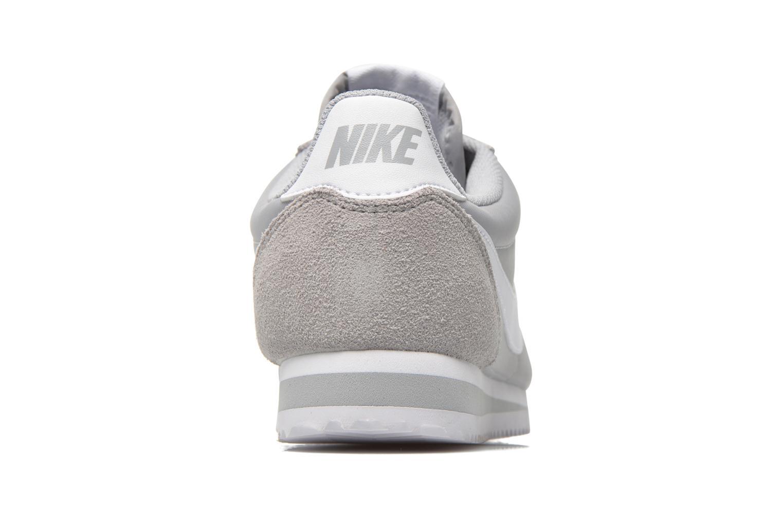 Sneakers Nike Classic Cortez Nylon Grå Se fra højre