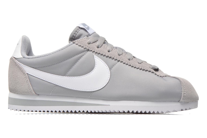Sneakers Nike Classic Cortez Nylon Grå se bagfra