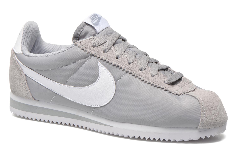 Sneakers Nike Classic Cortez Nylon Grå detaljeret billede af skoene