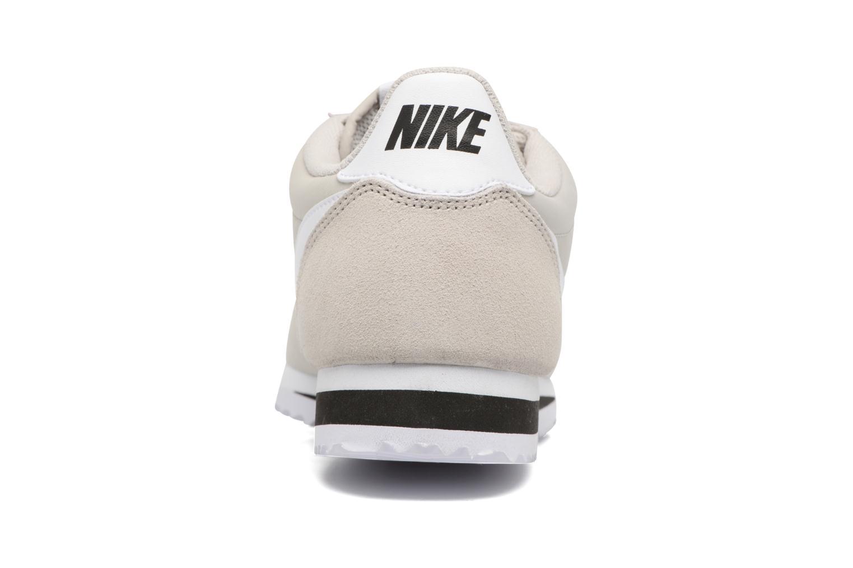 Baskets Nike Classic Cortez Nylon Beige vue droite