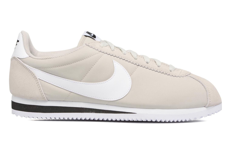 Trainers Nike Classic Cortez Nylon Beige back view