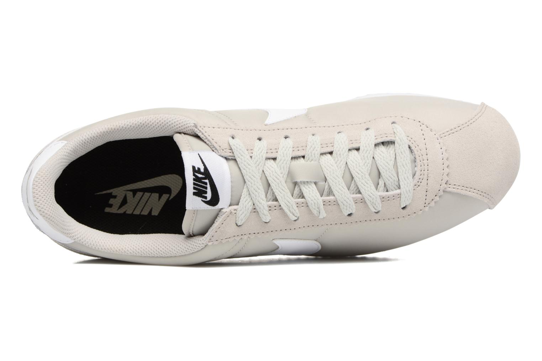 Baskets Nike Classic Cortez Nylon Beige vue gauche