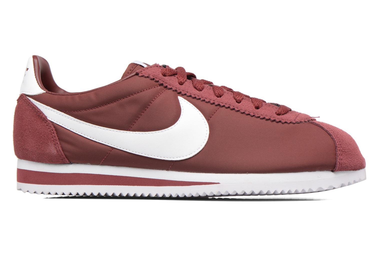 Sneakers Nike Classic Cortez Nylon Bordò immagine posteriore