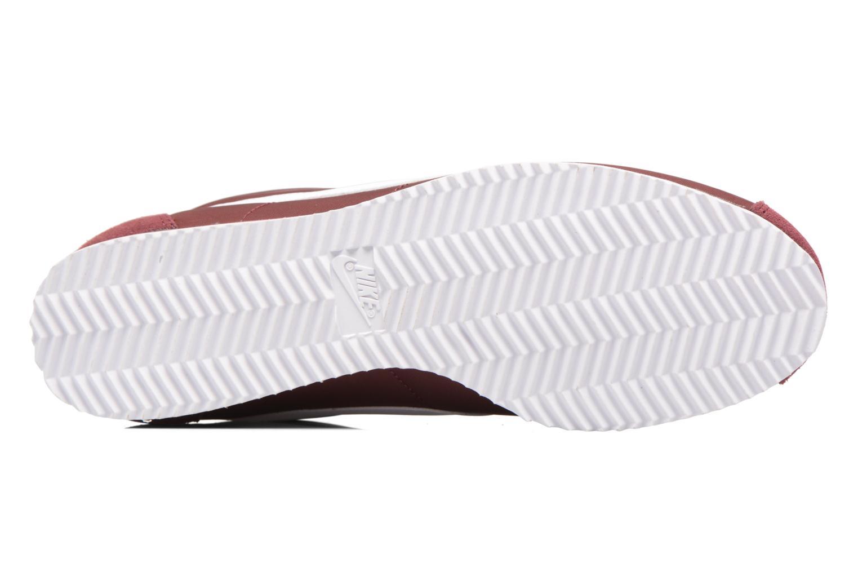 Sneakers Nike Classic Cortez Nylon Bordò immagine dall'alto