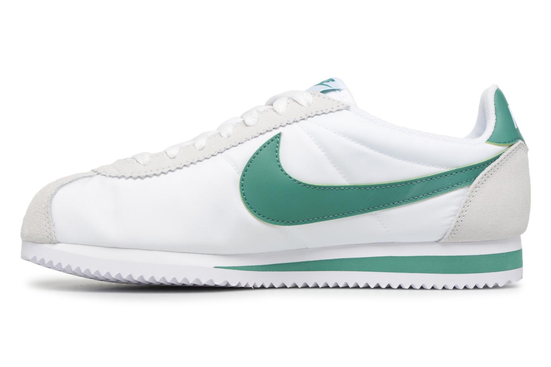 Deportivas Nike Classic Cortez Nylon Blanco vista de frente
