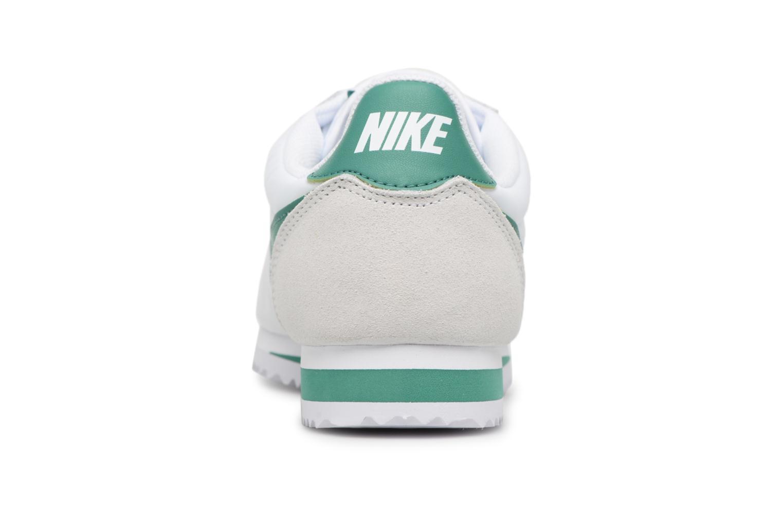 Deportivas Nike Classic Cortez Nylon Blanco vista lateral derecha