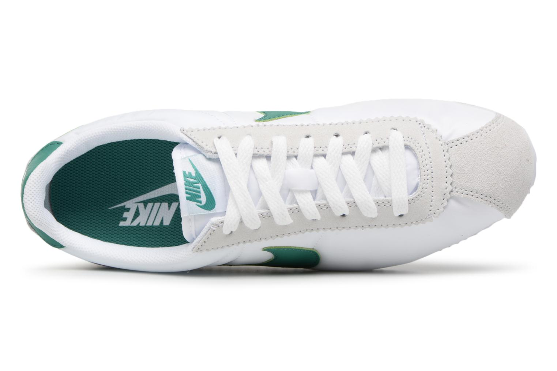 Deportivas Nike Classic Cortez Nylon Blanco vista lateral izquierda