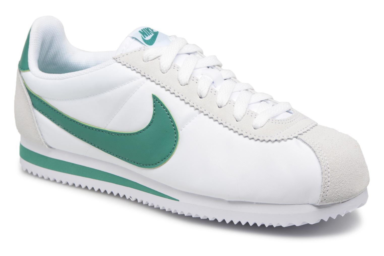 Deportivas Nike Classic Cortez Nylon Blanco vista de detalle / par
