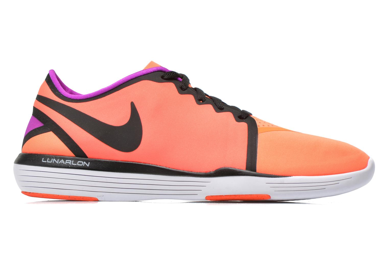 Zapatillas de deporte Nike Wmns Nike Lunar Sculpt Naranja vistra trasera