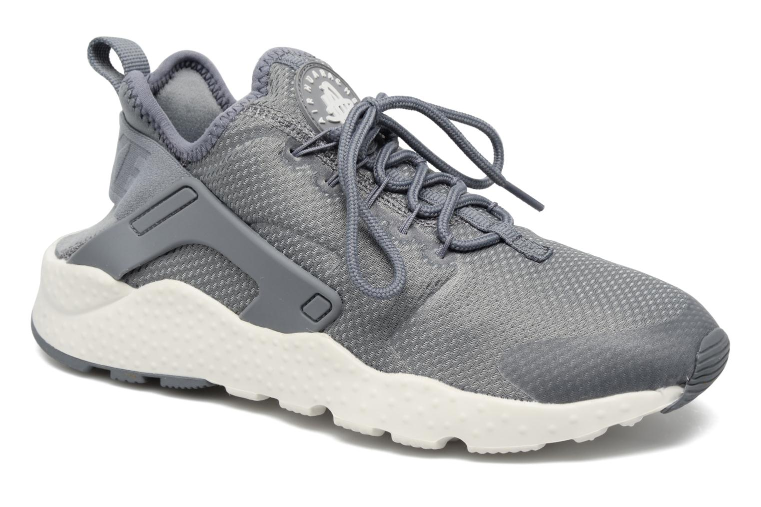Pure Platinum/Cool Grey-Black-White Nike W Air Huarache Run Ultra (Gris)
