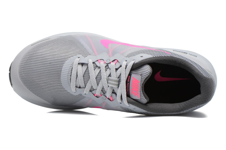 Chaussures de sport Nike Wmns Nike Dual Fusion X 2 Gris vue gauche