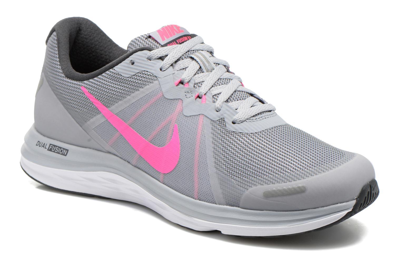 Chaussures de sport Nike Wmns Nike Dual Fusion X 2 Gris vue détail/paire