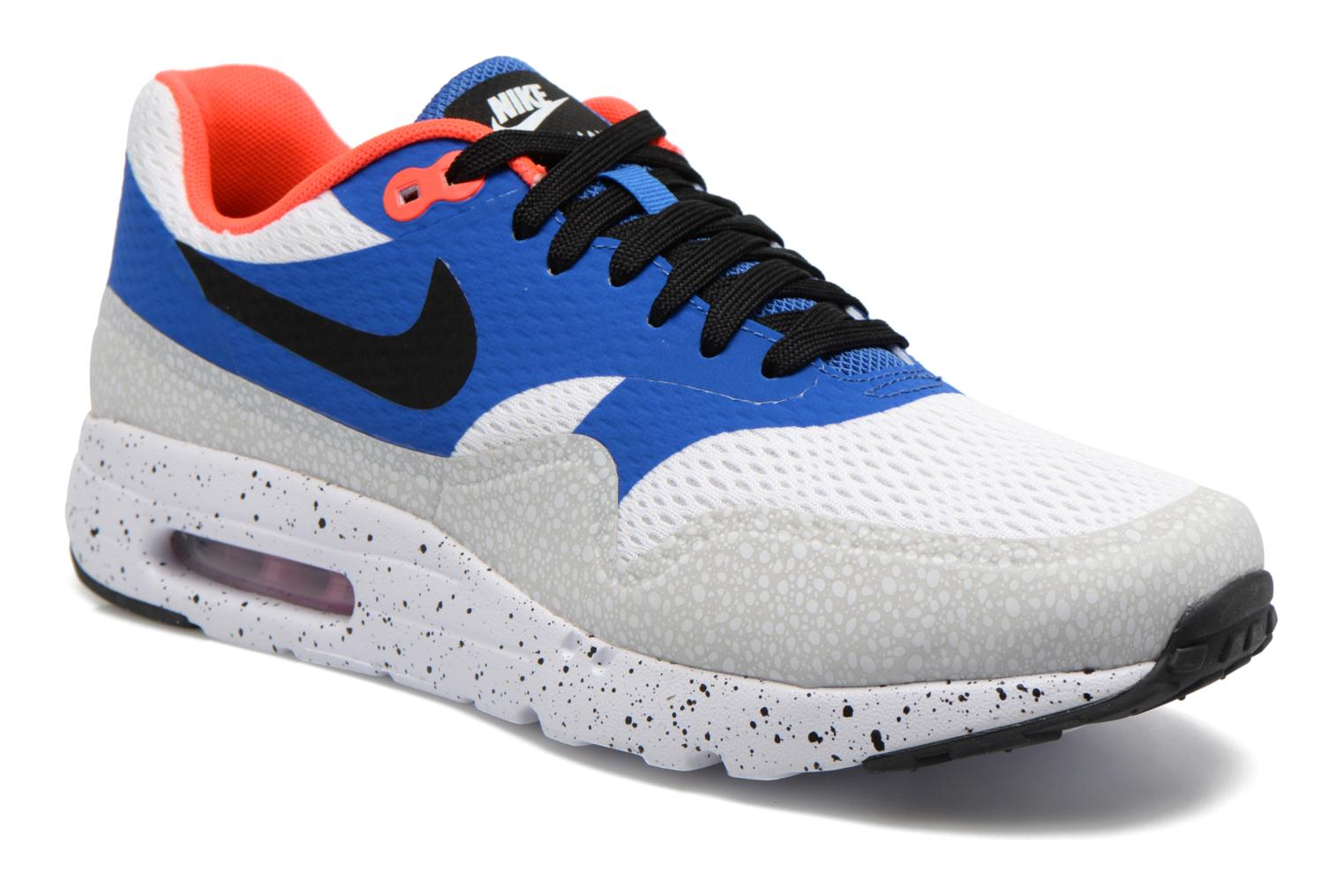 Nike Air Max 1 Ultra Essential White/Blk-Vrsty Ryl-Rflct Slvr