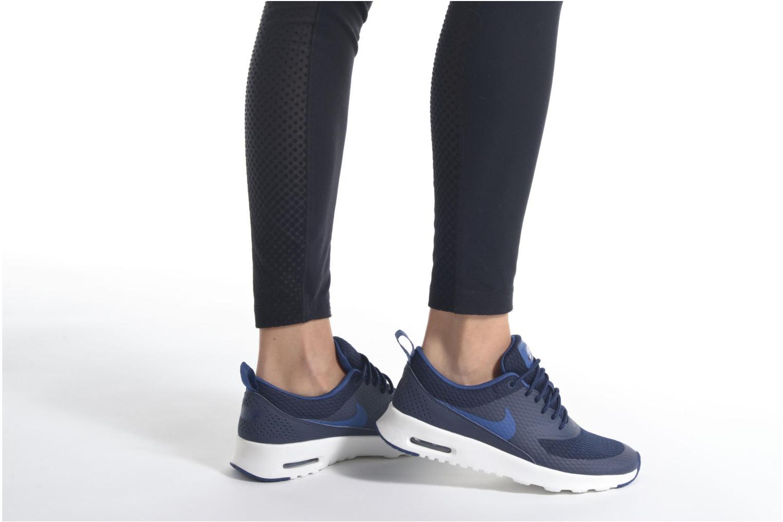 Baskets Nike W Nike Air Max Thea Txt Noir vue bas / vue portée sac