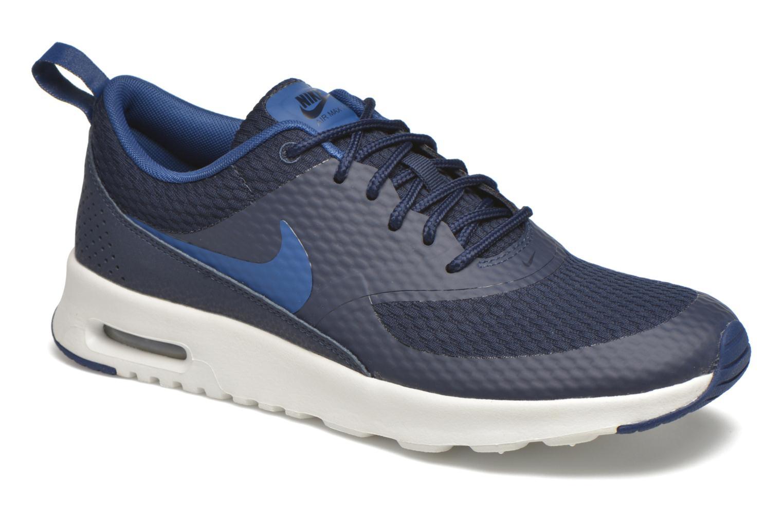 Marques Chaussure femme Nike femme W Nike Air Max Thea Txt Obsidian/Coastal Blue-Smmt Wht