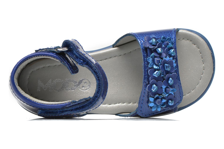 Sandales et nu-pieds Mod8 Gramy Bleu vue gauche