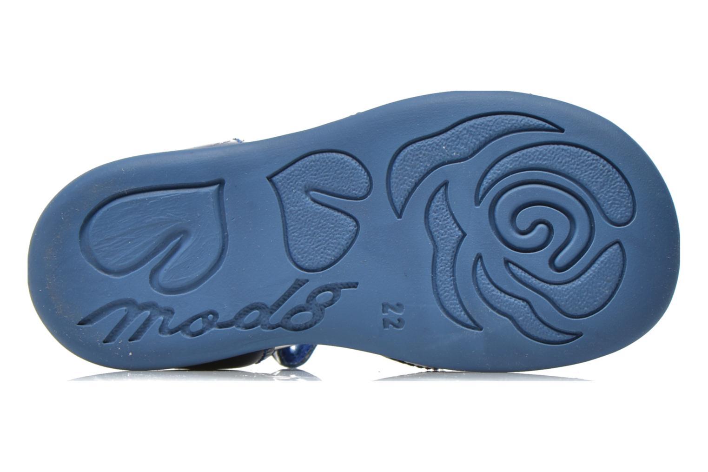 Sandales et nu-pieds Mod8 Gramy Bleu vue haut