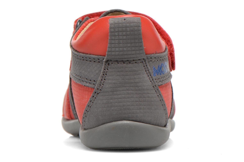 Sandales et nu-pieds Mod8 Louis Gris vue droite