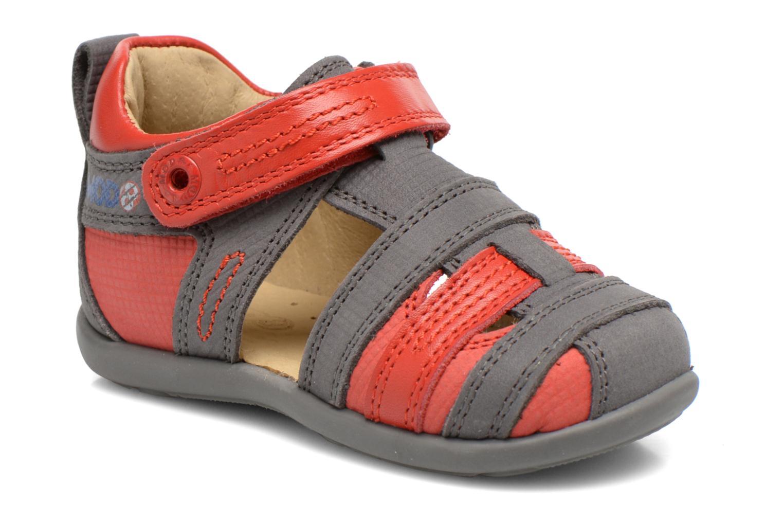 Sandales et nu-pieds Mod8 Louis Gris vue détail/paire