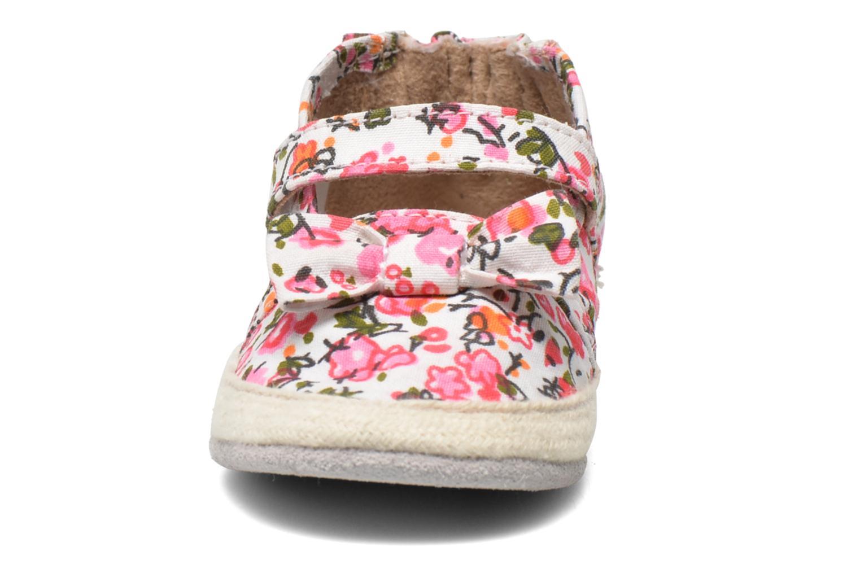 Hausschuhe Robeez Blossom mehrfarbig schuhe getragen