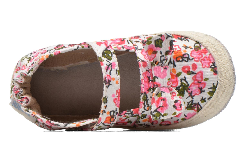 Hausschuhe Robeez Blossom mehrfarbig ansicht von links