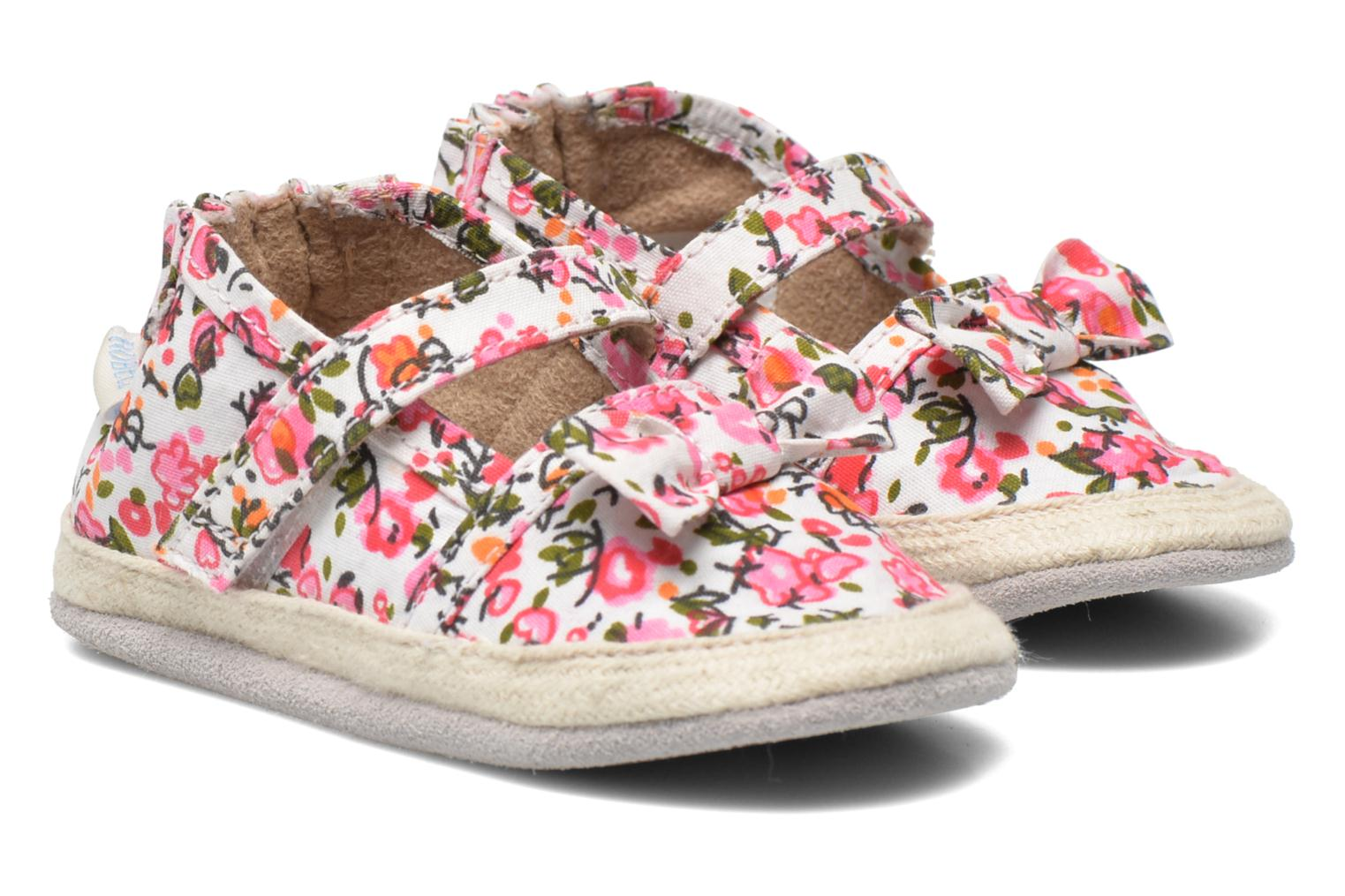 Slippers Robeez Blossom Multicolor detailed view/ Pair view