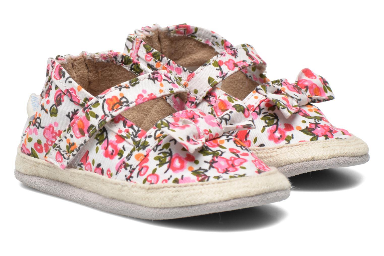 Hausschuhe Robeez Blossom mehrfarbig detaillierte ansicht/modell