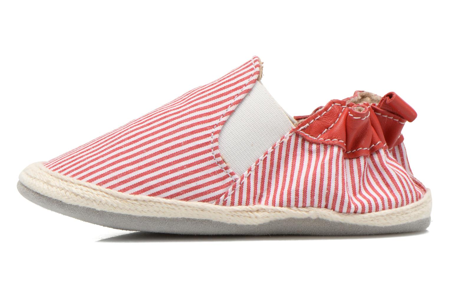 Chaussons Robeez Summer Camp Rouge vue face