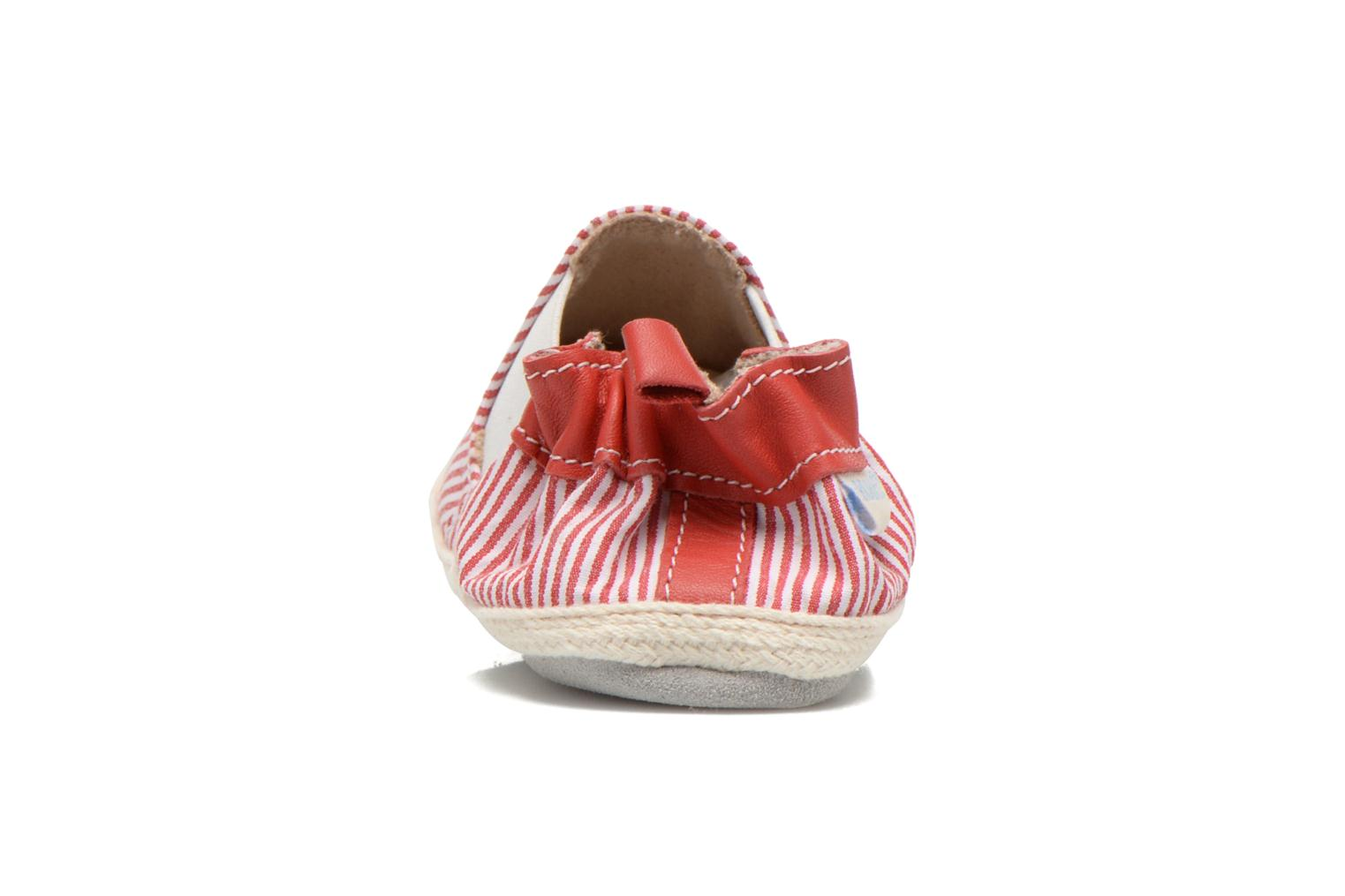 Chaussons Robeez Summer Camp Rouge vue droite