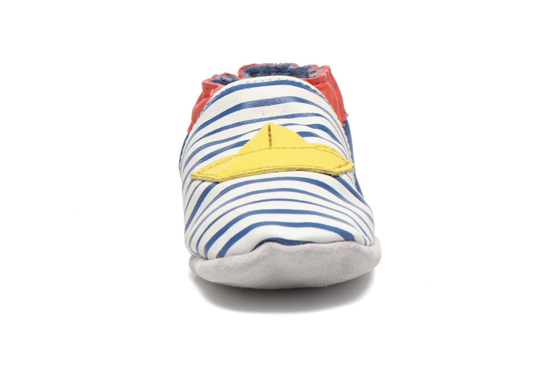 Hjemmesko Robeez My Little Boat Blå se skoene på