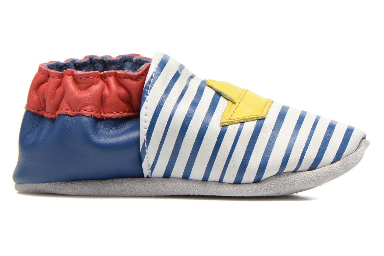 Pantoffels Robeez My Little Boat Blauw achterkant