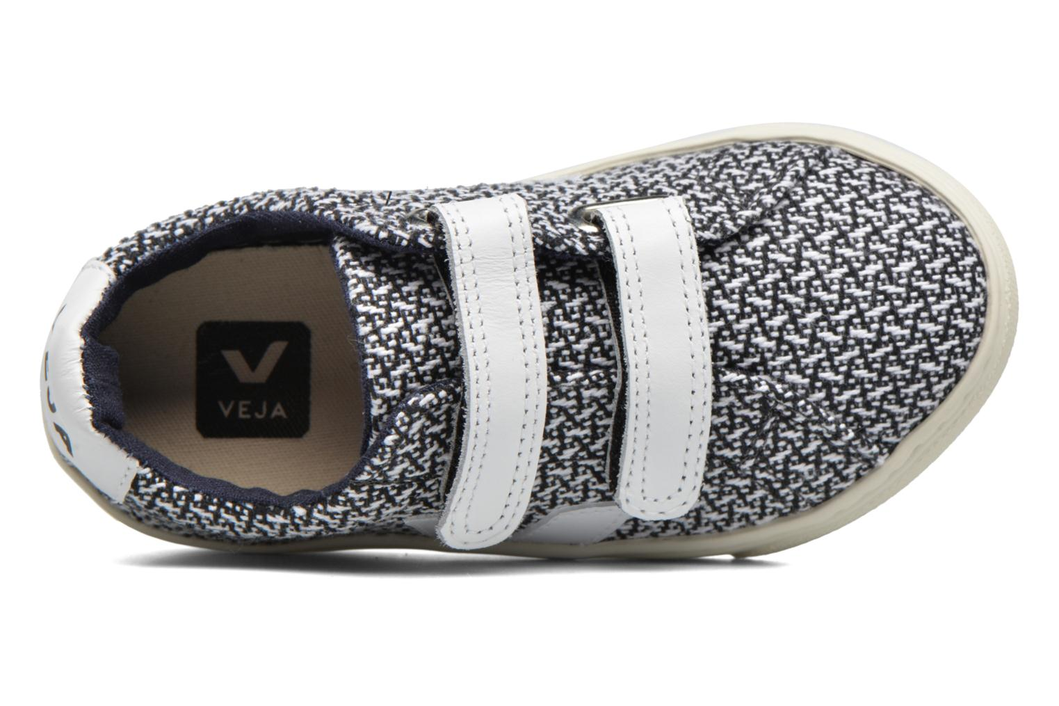 Trainers Veja Esplar Small Velcro Multicolor view from the left