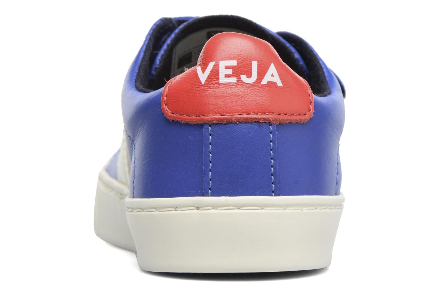 Trainers Veja Esplar Small Velcro Blue view from the right