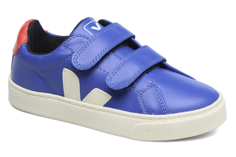 Baskets Veja Esplar Small Velcro Bleu vue détail/paire