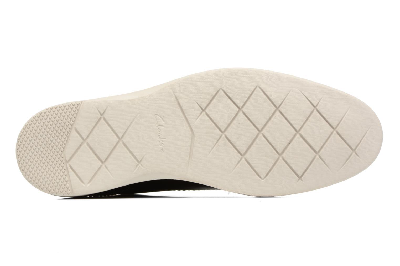 Snörade skor Clarks Franson Plain Grå bild från ovan