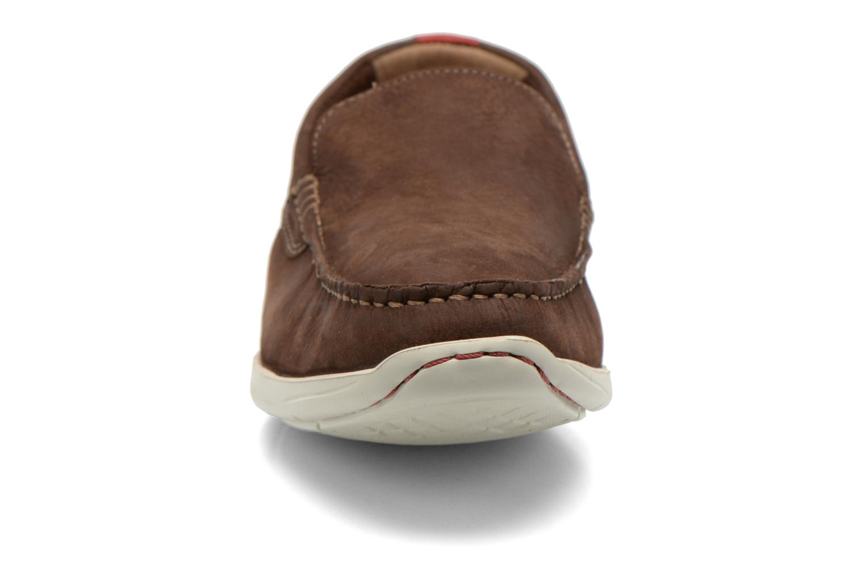 Loafers Clarks Karlock Lane Brown model view