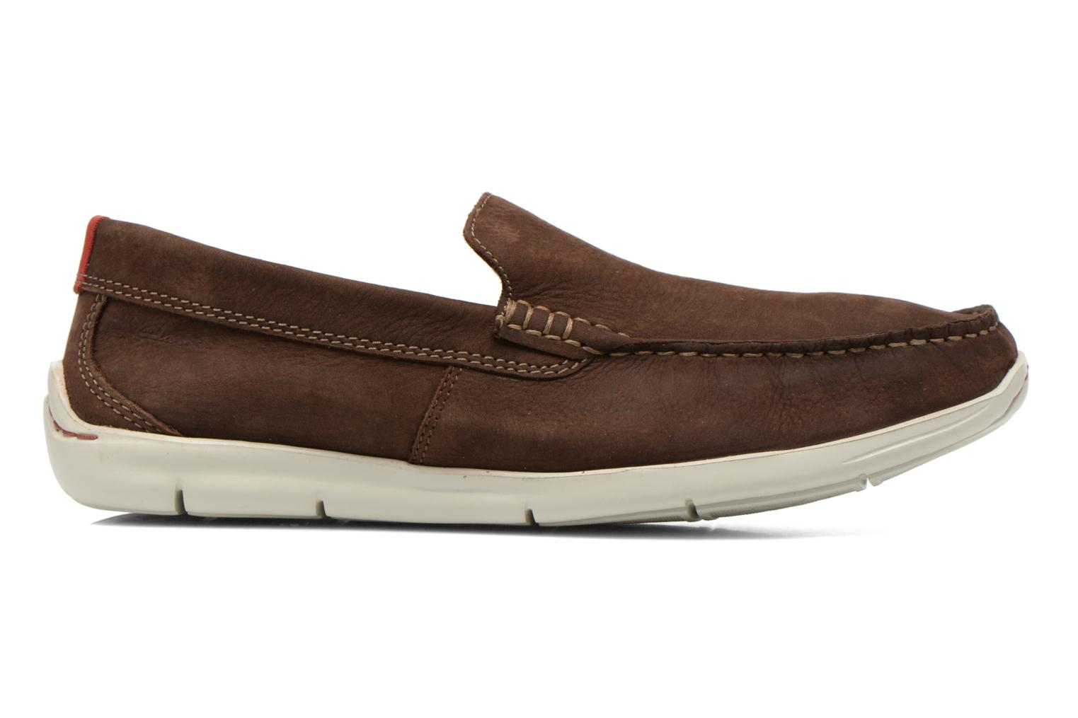 Mocasines Clarks Karlock Lane Marrón vistra trasera