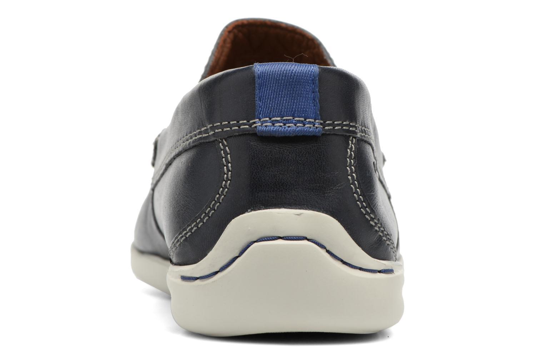 Loafers Clarks Karlock Lane Blå Se fra højre