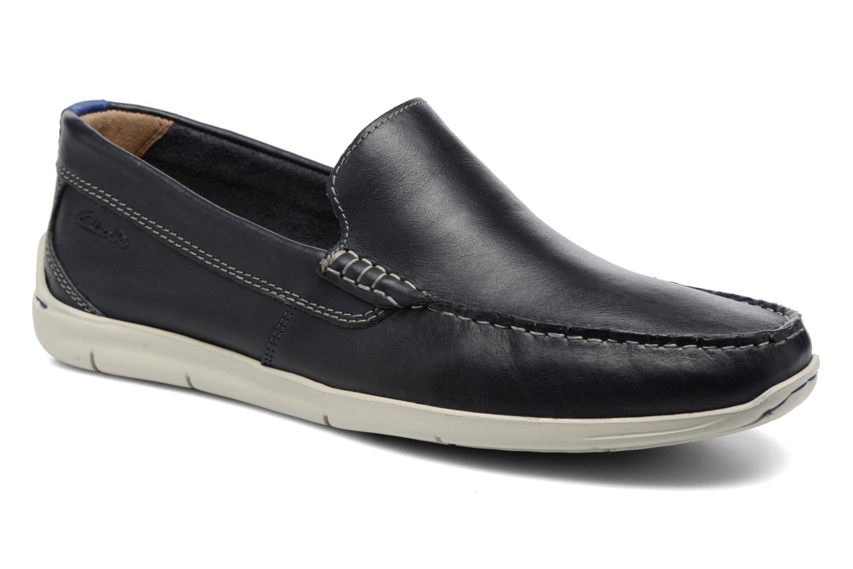 Loafers Clarks Karlock Lane Blå detaljeret billede af skoene