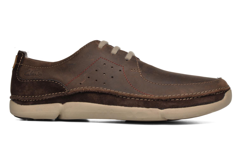 Chaussures à lacets Clarks Trikeyon Fly Marron vue derrière