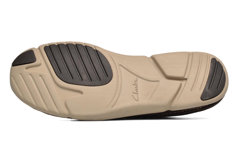 Chaussures à lacets Clarks Trikeyon Fly Marron vue haut