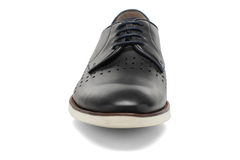Chaussures à lacets Clarks Tulik Edge Bleu vue portées chaussures