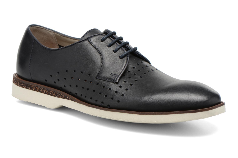 Chaussures à lacets Clarks Tulik Edge Bleu vue détail/paire