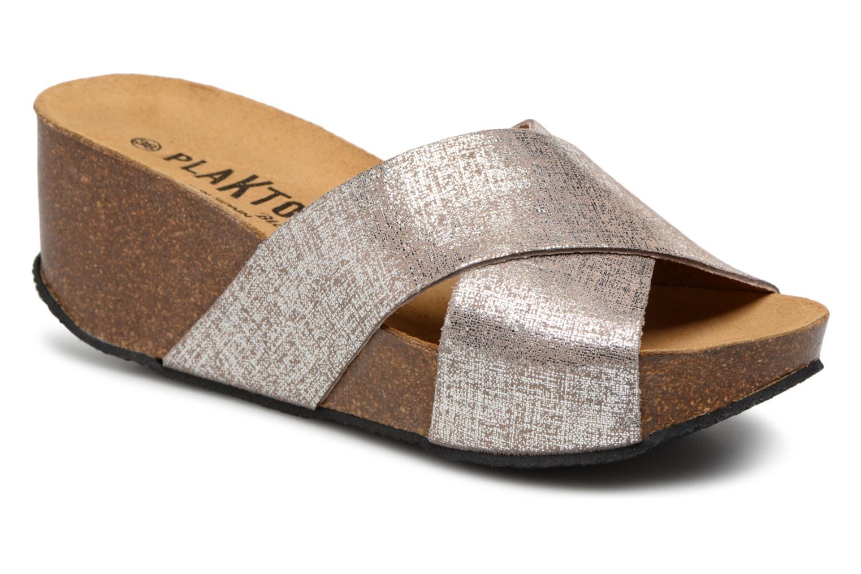 Zapatos promocionales Plakton So Clip (Plateado) - Zuecos   Zapatos casuales salvajes